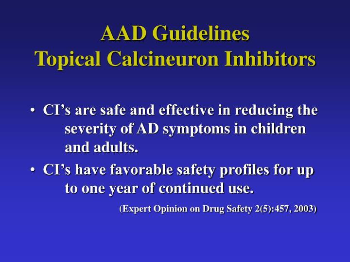 AAD Guidelines