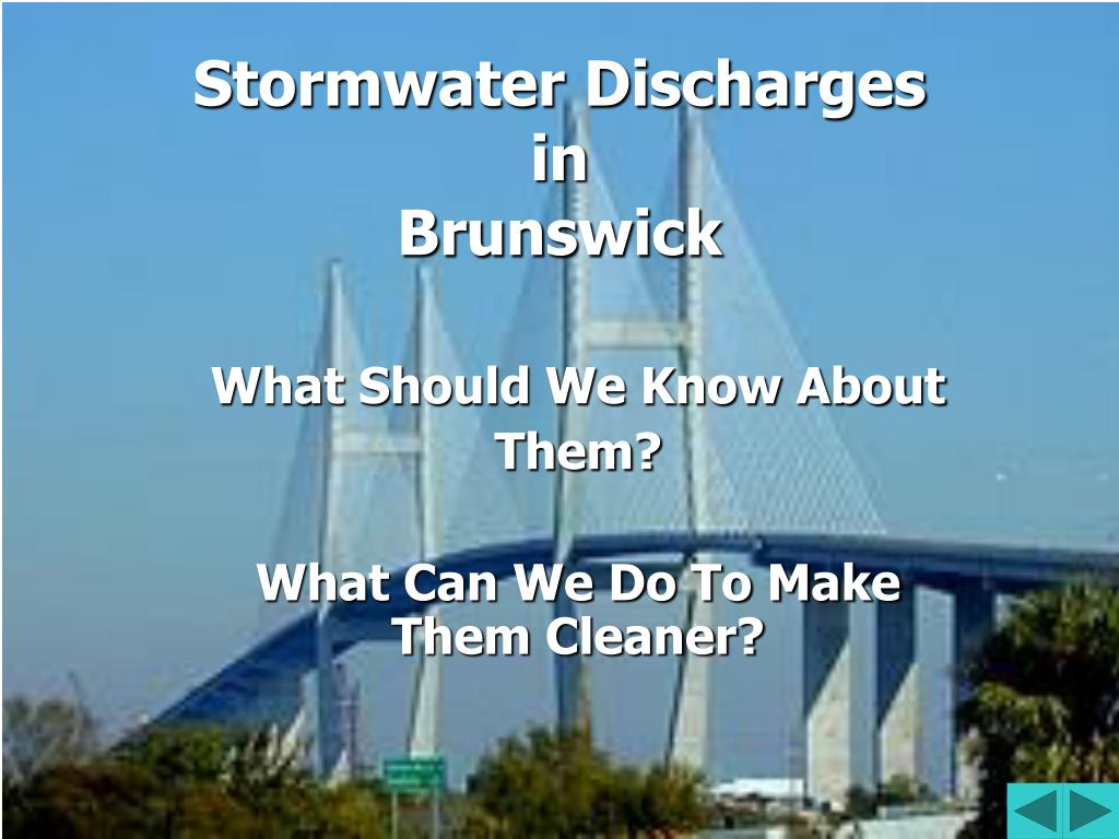 Stormwater Discharges