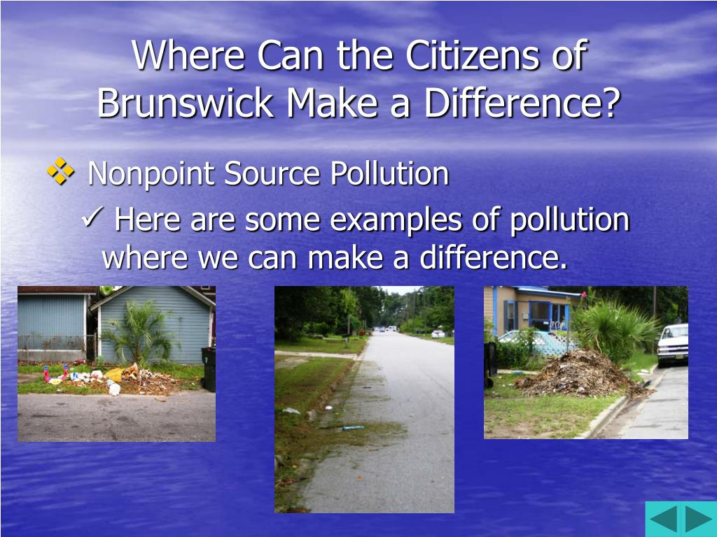 Where Can the Citizens of Brunswick Make a Difference?