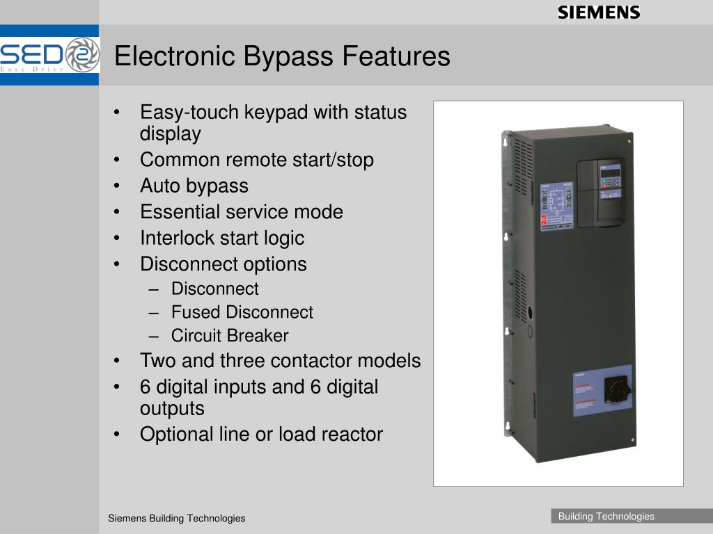 Electronic Bypass Features