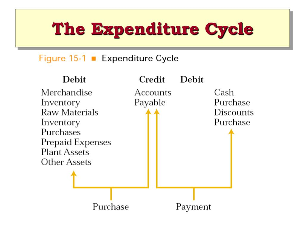 The Expenditure Cycle