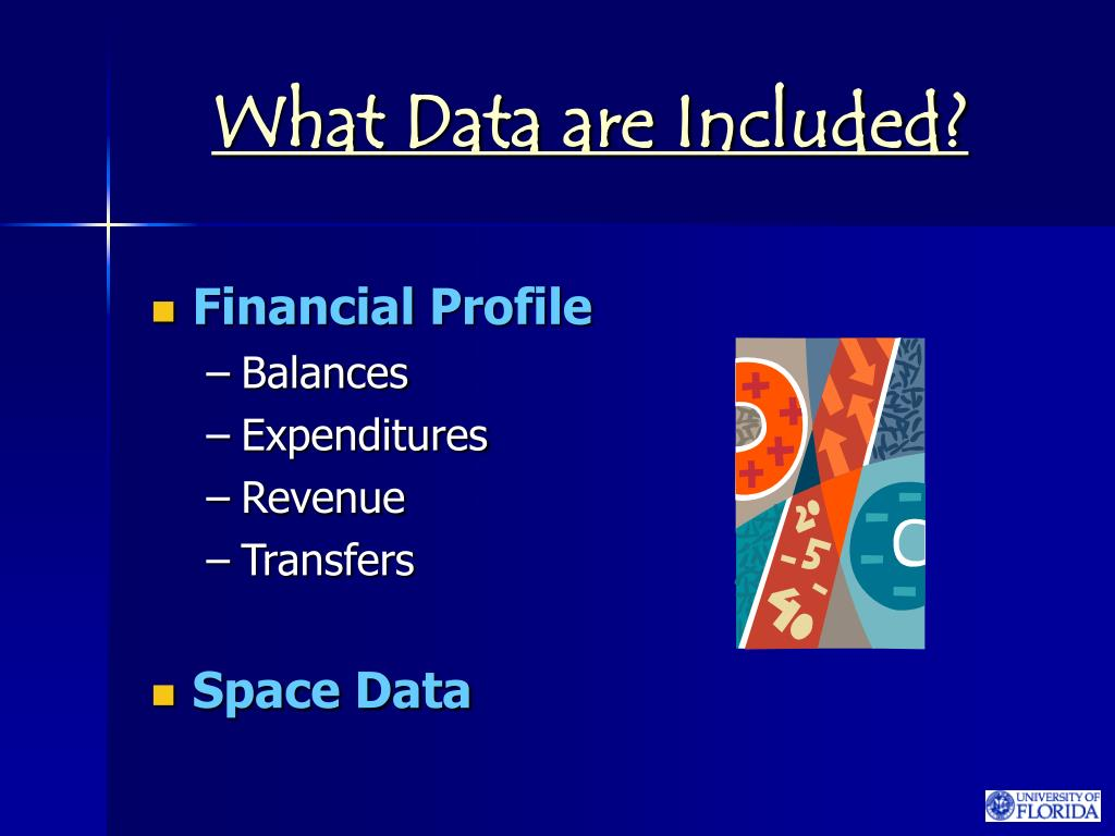 What Data are Included?