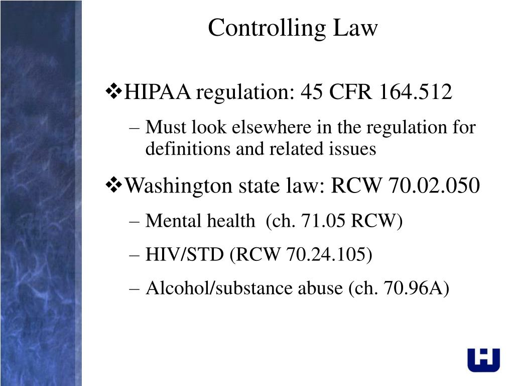 Controlling Law