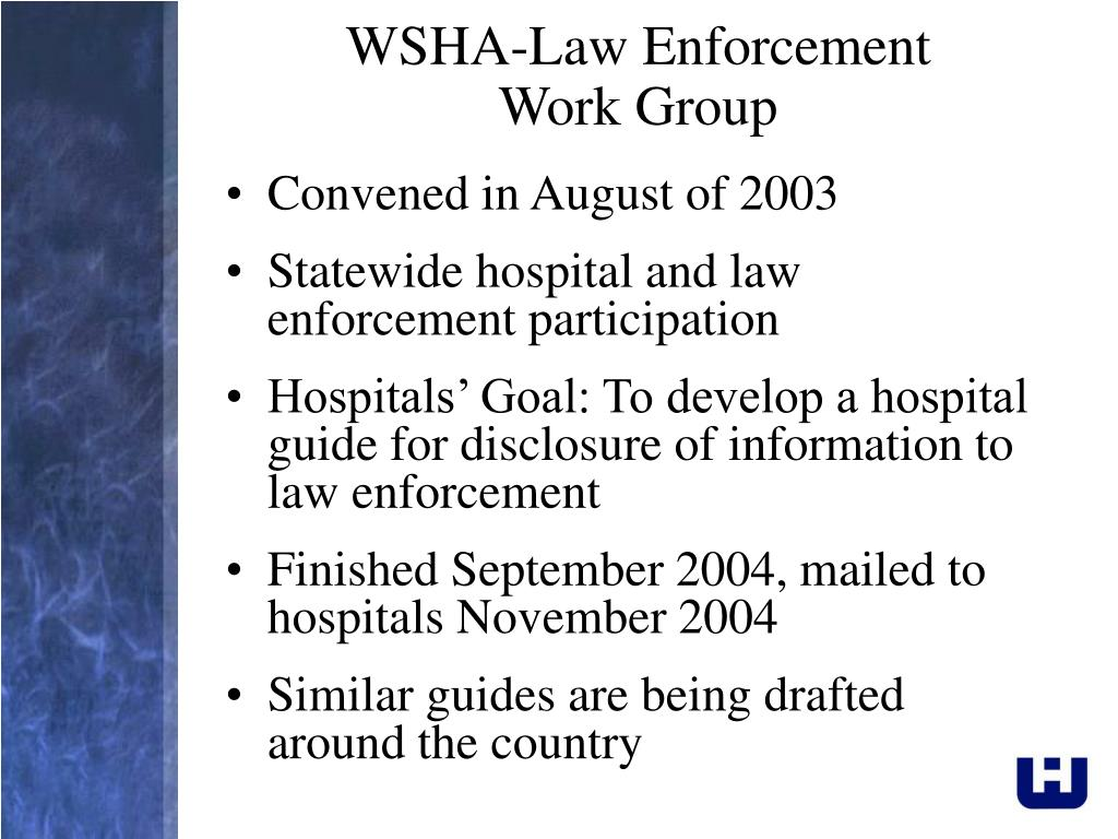 WSHA-Law Enforcement