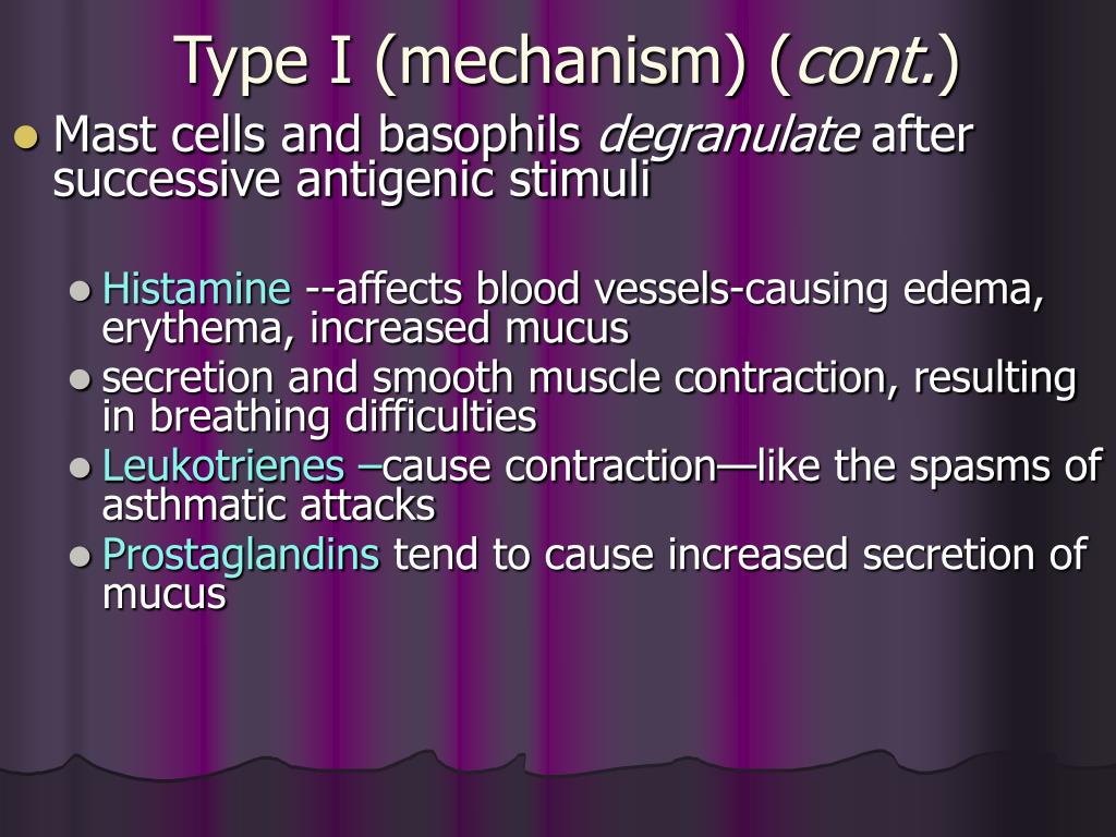 Type I (mechanism) (