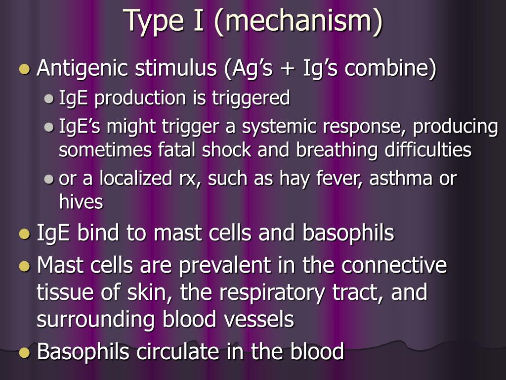 Type I (mechanism)