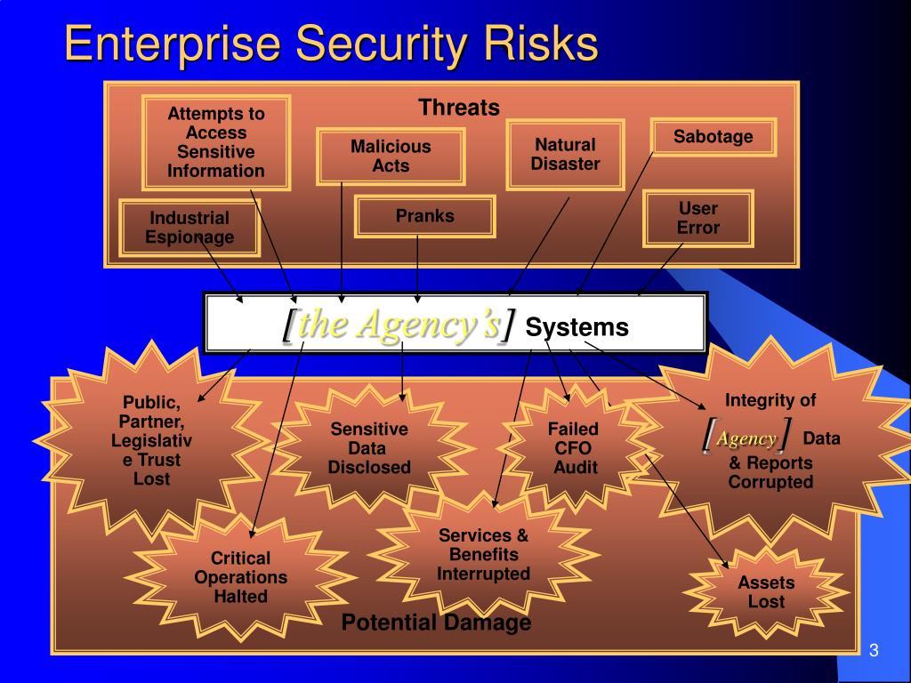 Enterprise Security Risks