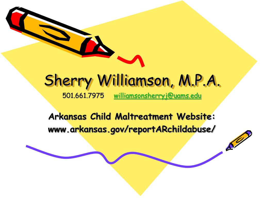 Sherry Williamson, M.P.A.
