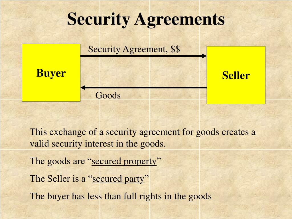 Security Agreement, $$