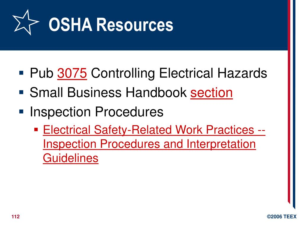 OSHA Resources