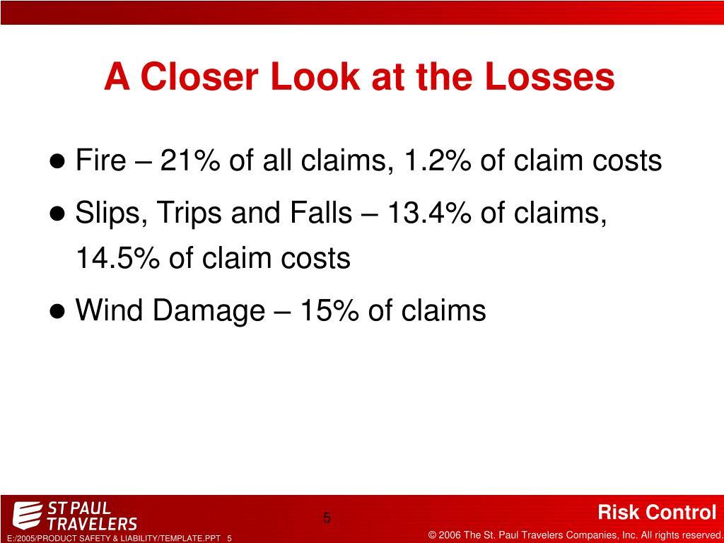 A Closer Look at the Losses