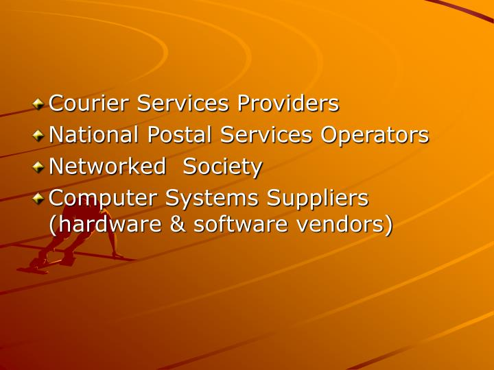Courier Services Providers