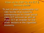 vision of the kibp for the ict services sector
