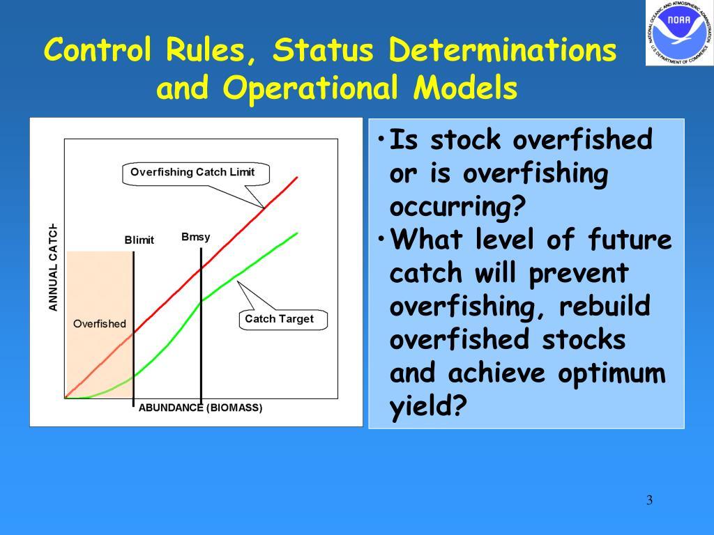 Control Rules, Status Determinations
