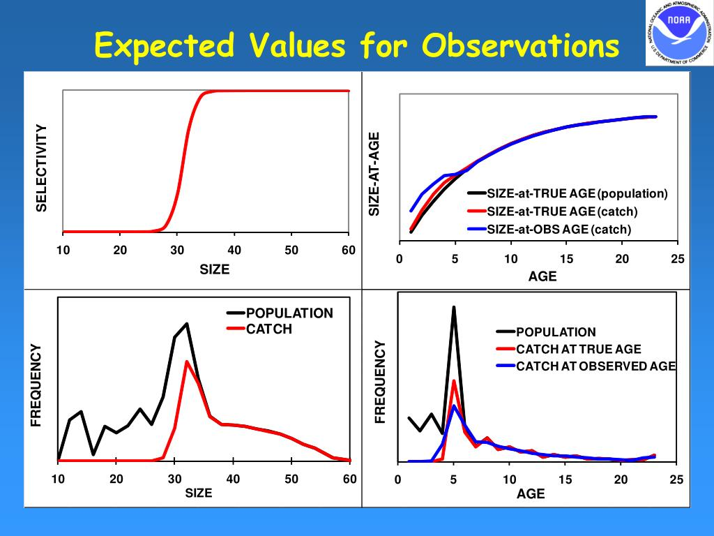 Expected Values for Observations