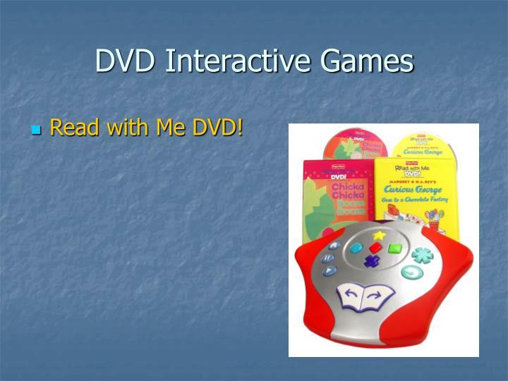 DVD Interactive Games