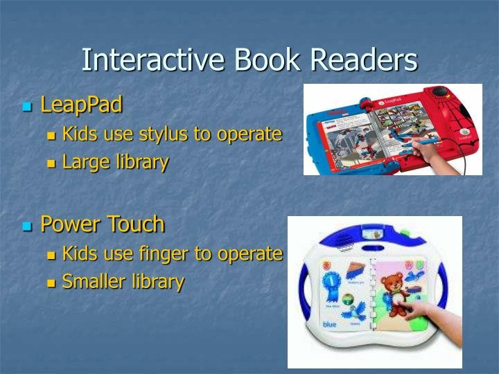Interactive Book Readers