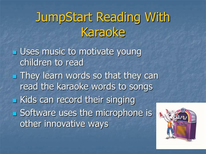 JumpStart Reading With Karaoke