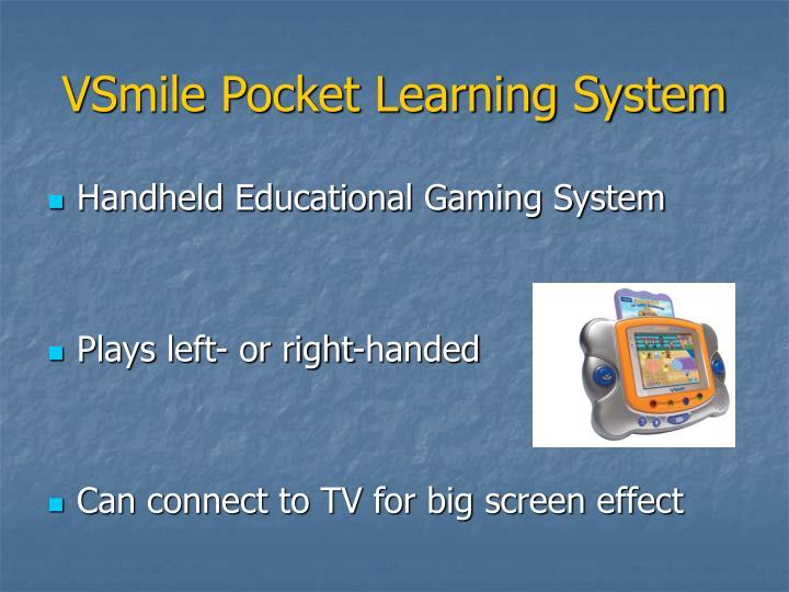 VSmile Pocket Learning System