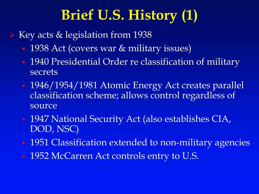 Brief U.S. History (1)