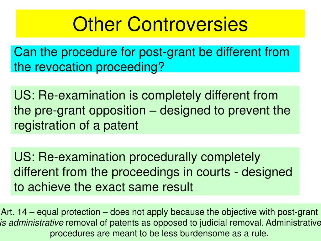 Other Controversies