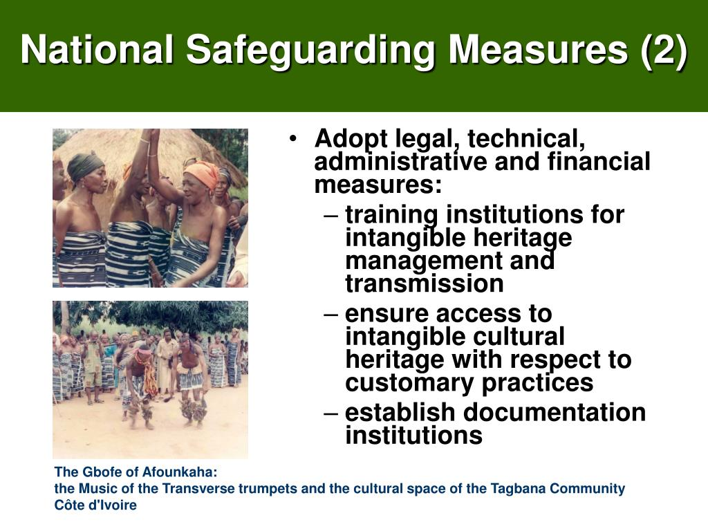 National Safeguarding Measures (2)
