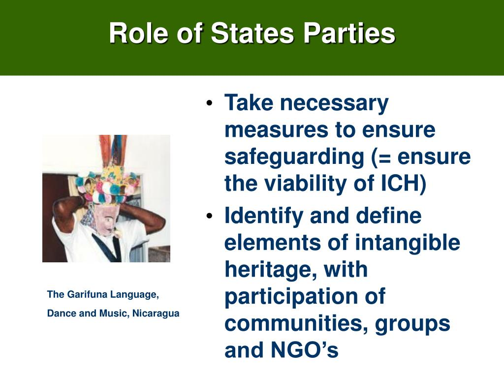 Role of States Parties