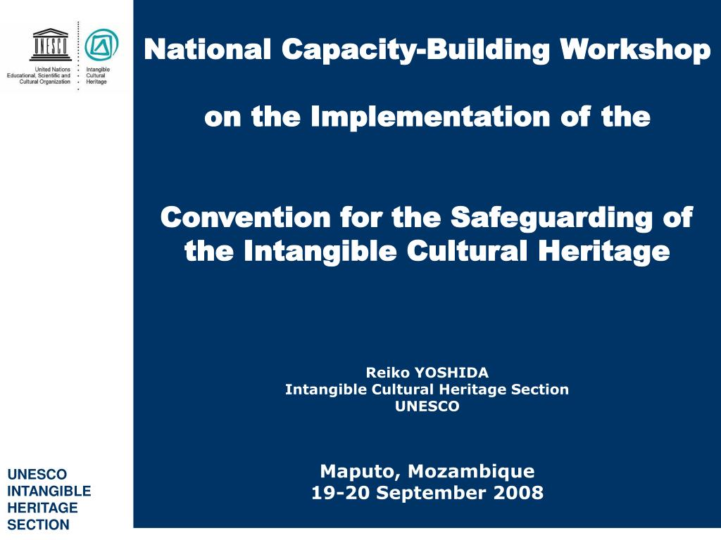 National Capacity-Building Workshop
