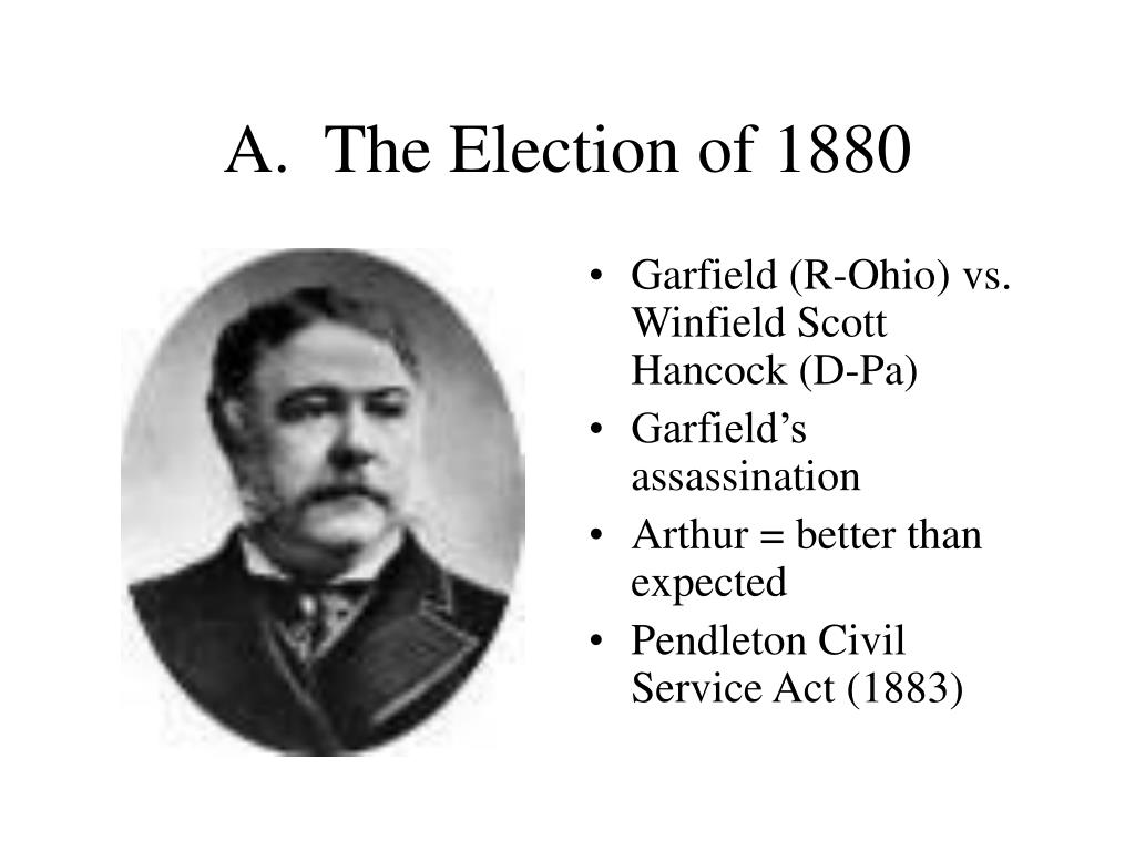 A.  The Election of 1880