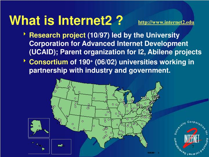 What is Internet2 ?