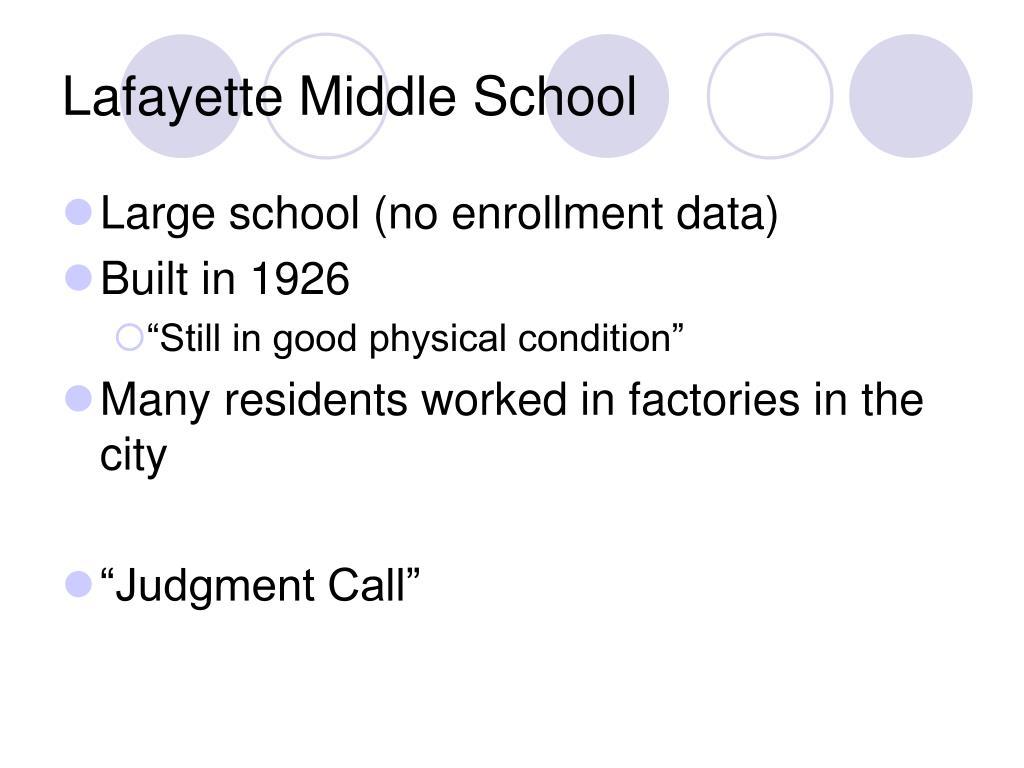 Lafayette Middle School