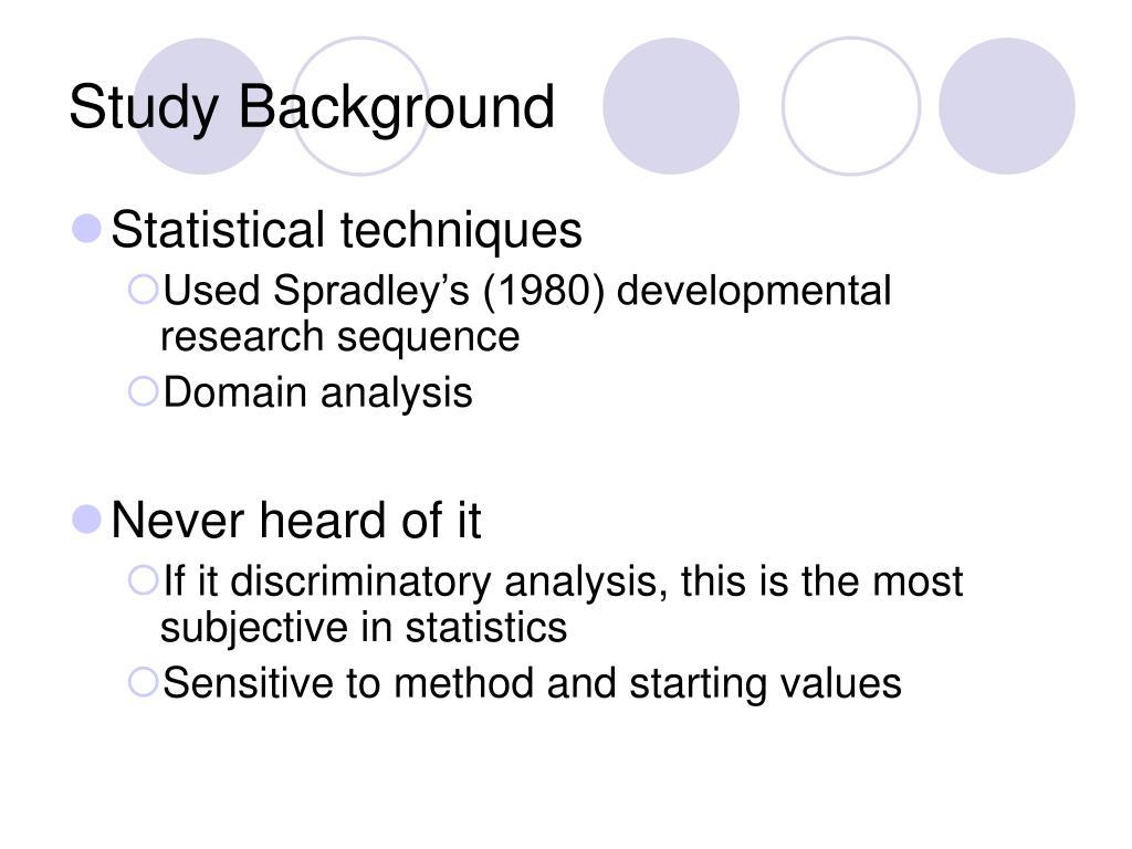 Study Background