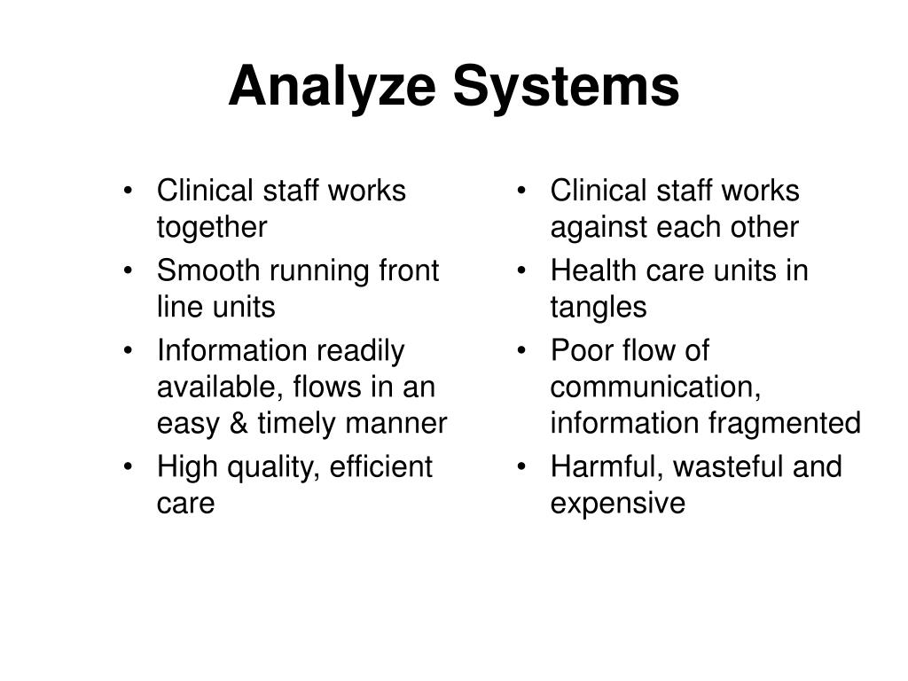 Clinical staff works together