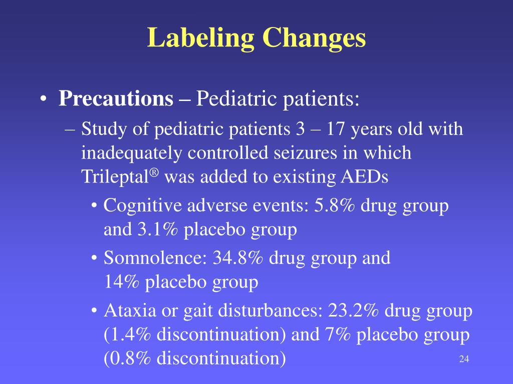 Labeling Changes
