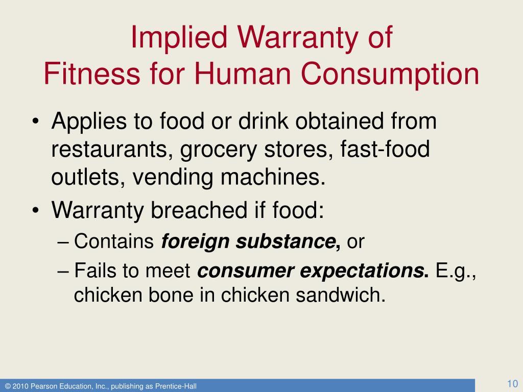 Implied Warranty of
