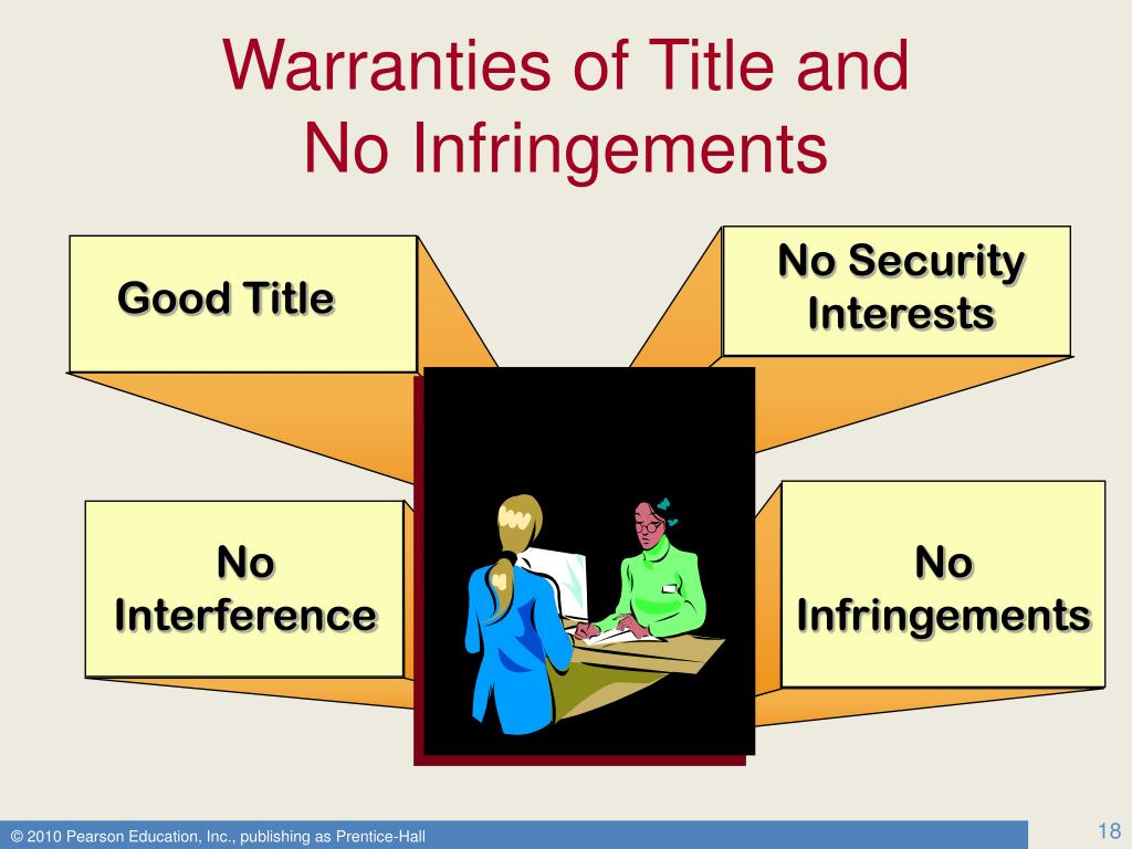 Warranties of Title and