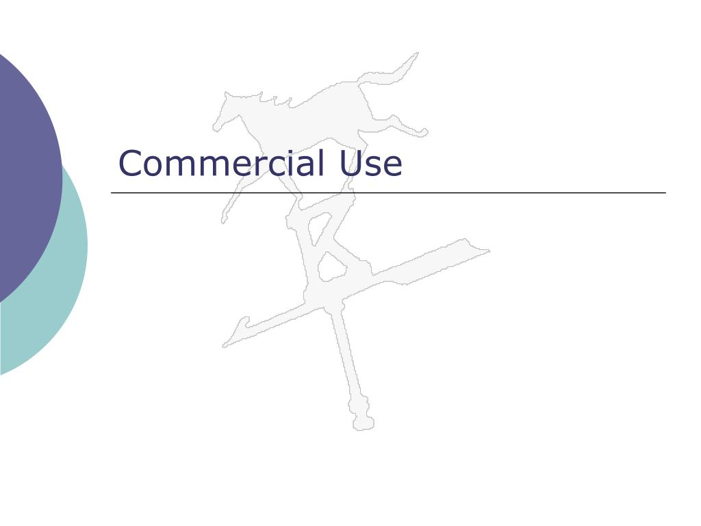 Commercial Use