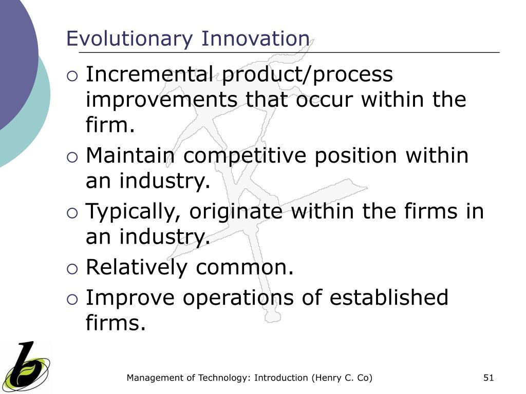 Evolutionary Innovation