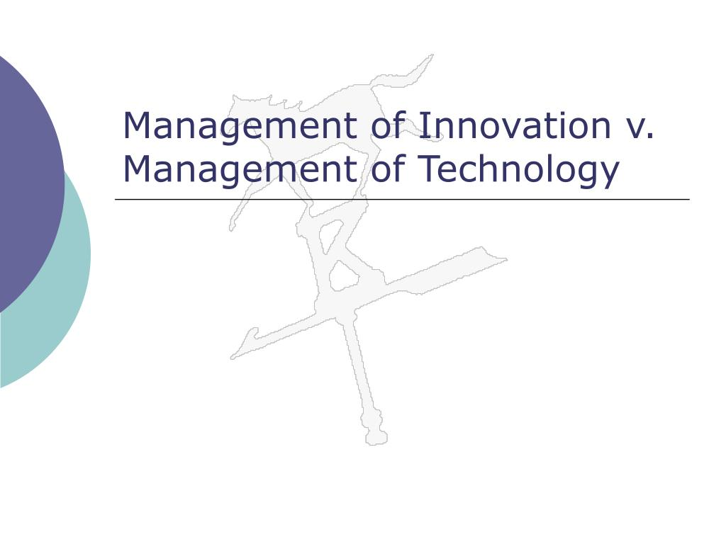 Management of Innovation v.