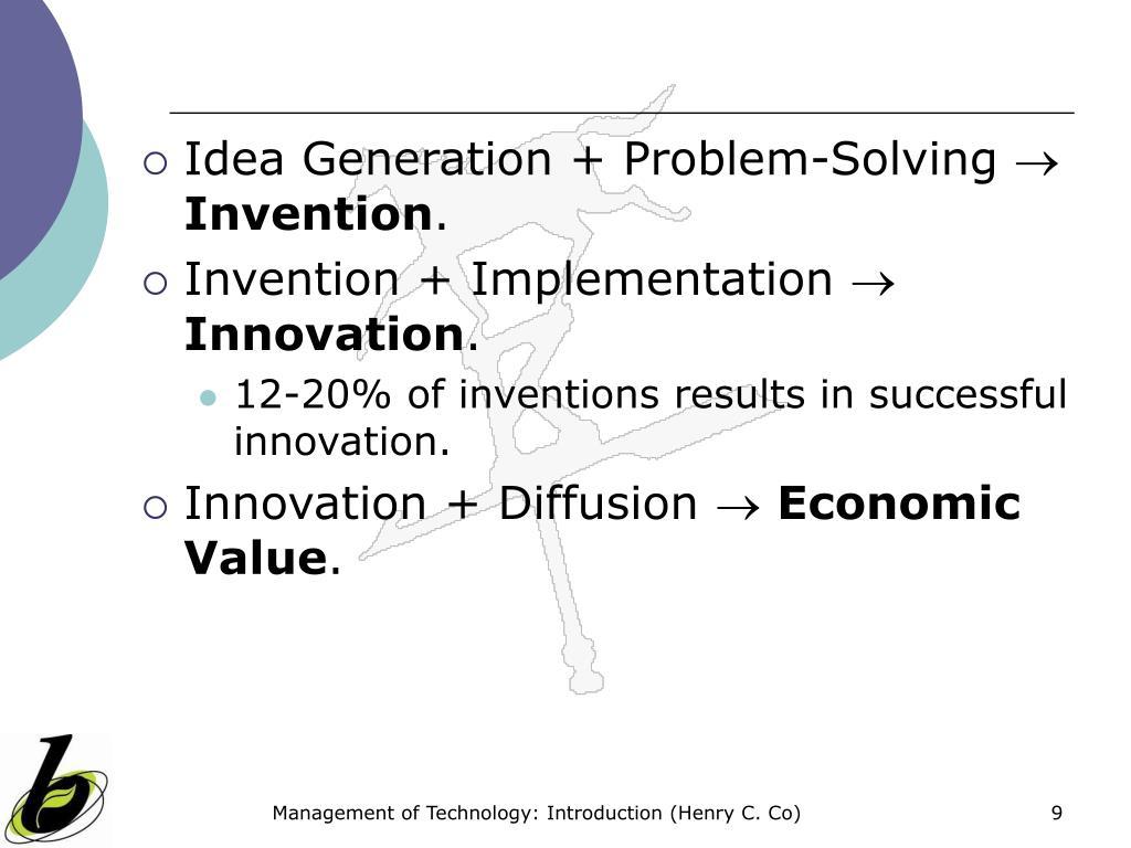 Idea Generation + Problem-Solving