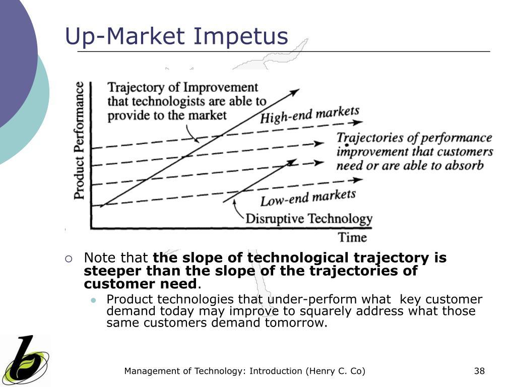 Up-Market Impetus