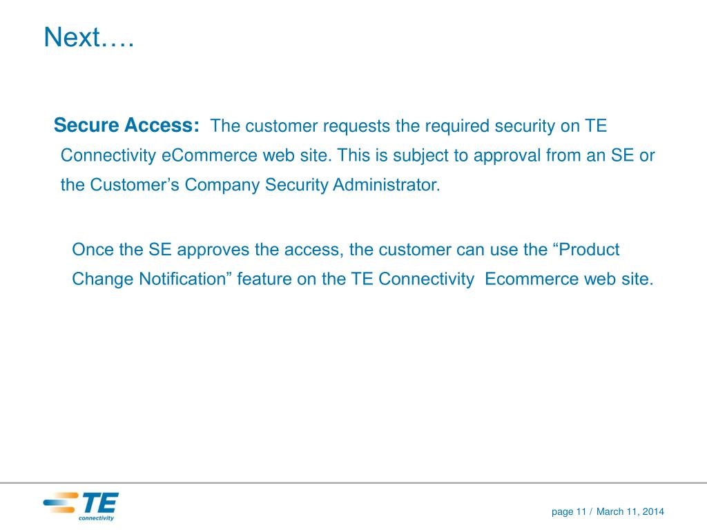Secure Access: