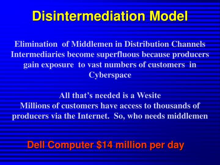 Disintermediation Model