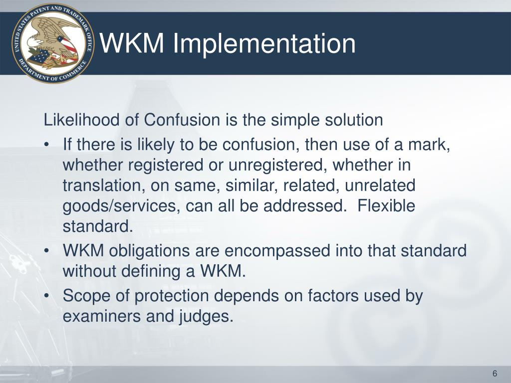 WKM Implementation