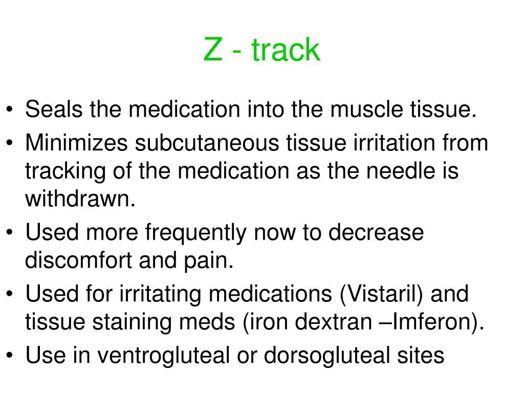 Z - track