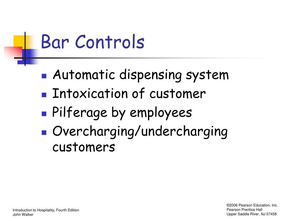 Bar Controls