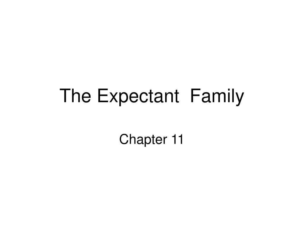 The Expectant  Family