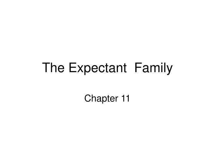 The expectant family l.jpg
