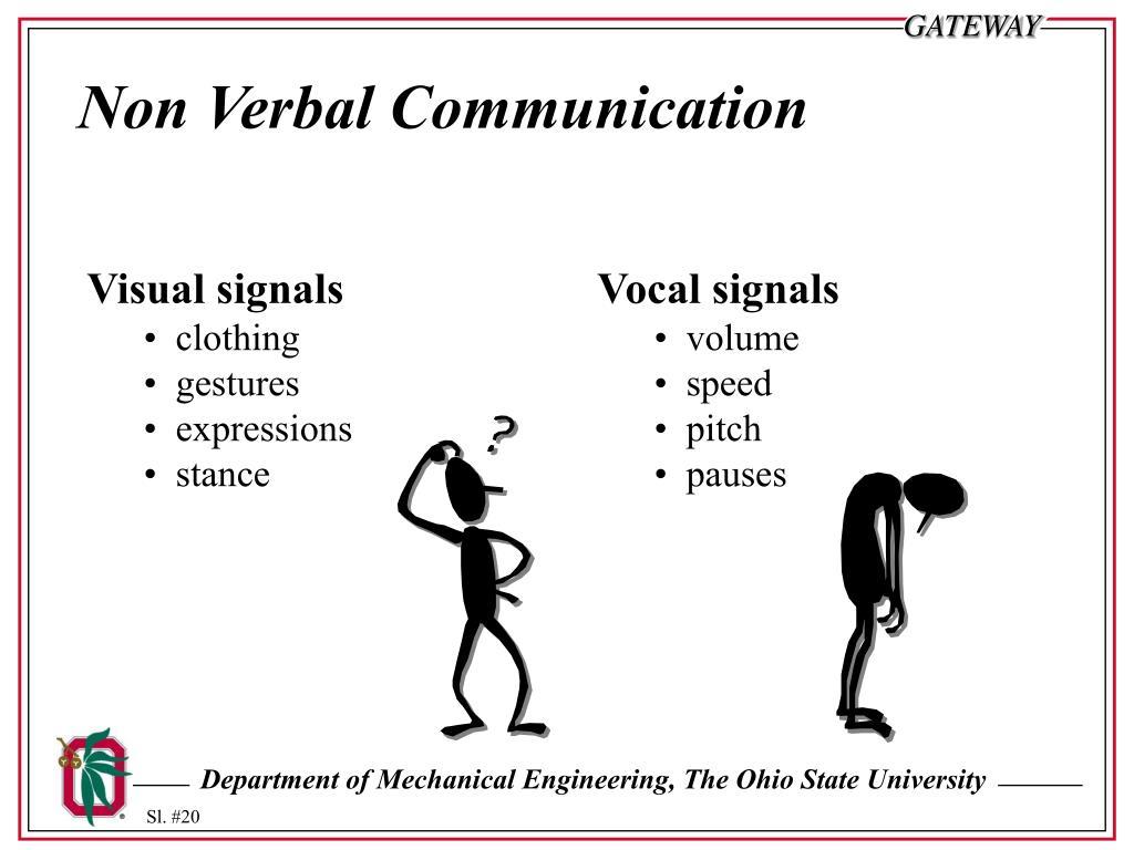 Non Verbal Communication