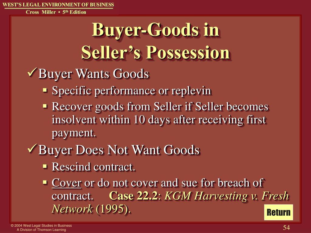 Buyer-Goods in